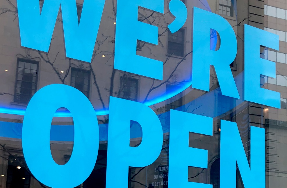 We're Open2