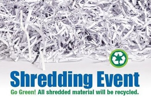Free Shredding Event Planned-July 21
