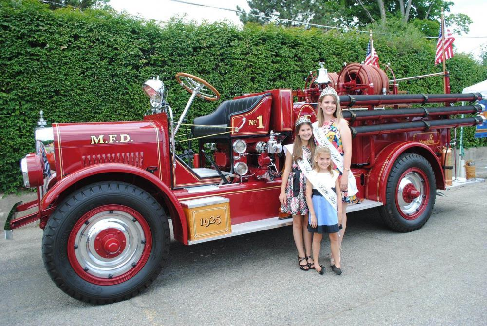 Historical Fire Engine